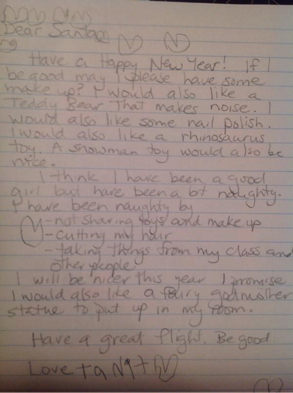 Tanit's Santa Letter